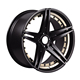 American aftermarket racing alloy wheel rims 16x7.5,5x100 car wheel