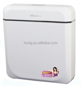 Good Quality! Plastic PP Dual flush toilet tank flushing cistern for toilet and squatting pan