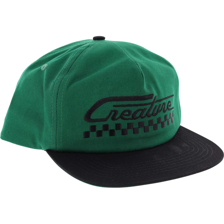 Creature Skateboards Grease Monkey Dark Green/Black Hat - Adjustable