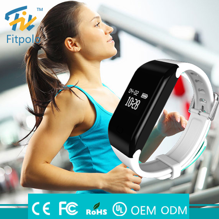 Fitpolo Wholesale European Promotional Product Gym Bracelet with heart reate monitor