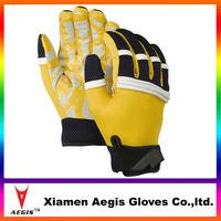 Batting gloves, yellow neoprene Batting gloves, xxl Batting gloves