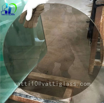 Bon Round Colored Table Top Glass Support,tinted Toughened Glass For Table Top
