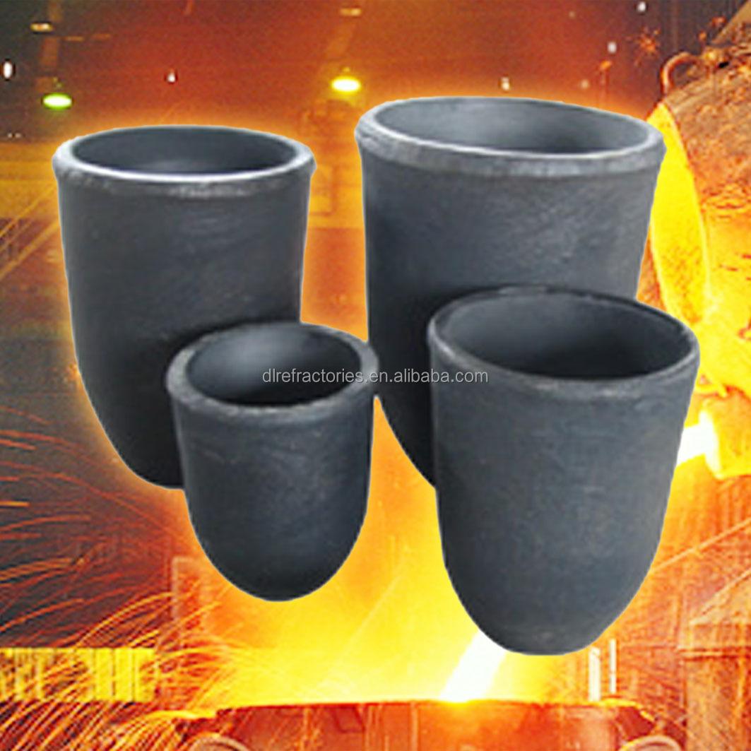 SiC Graphite Crucibles for melting aluminum in stock