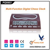 elegant digital chess board clock for children games