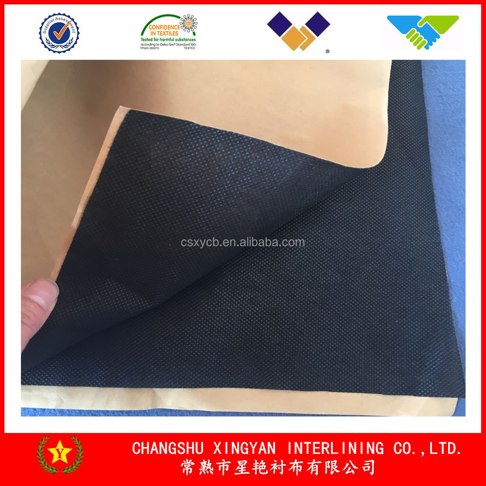 Nonwoven Fabric Adhesive Backed Polyester China Supplier Low Price ...