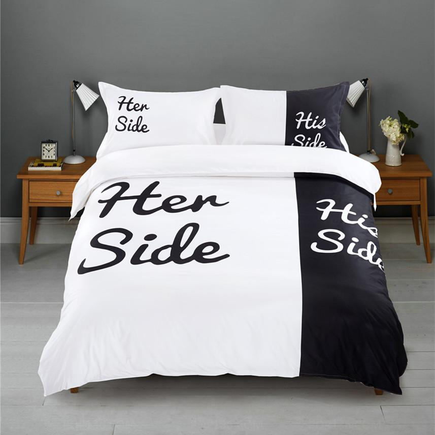 online kaufen gro handel paar bettw sche set aus china paar bettw sche set gro h ndler. Black Bedroom Furniture Sets. Home Design Ideas