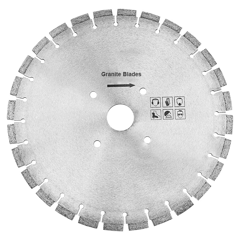 Smooth and Fast Cutting Diamond Circular Saw Blade Segment for Granite