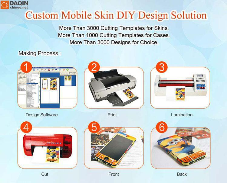 custom Full body laptop skin making machine for laptop skin
