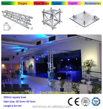 Aluminum Medium Lighting Truss Compatible With Global