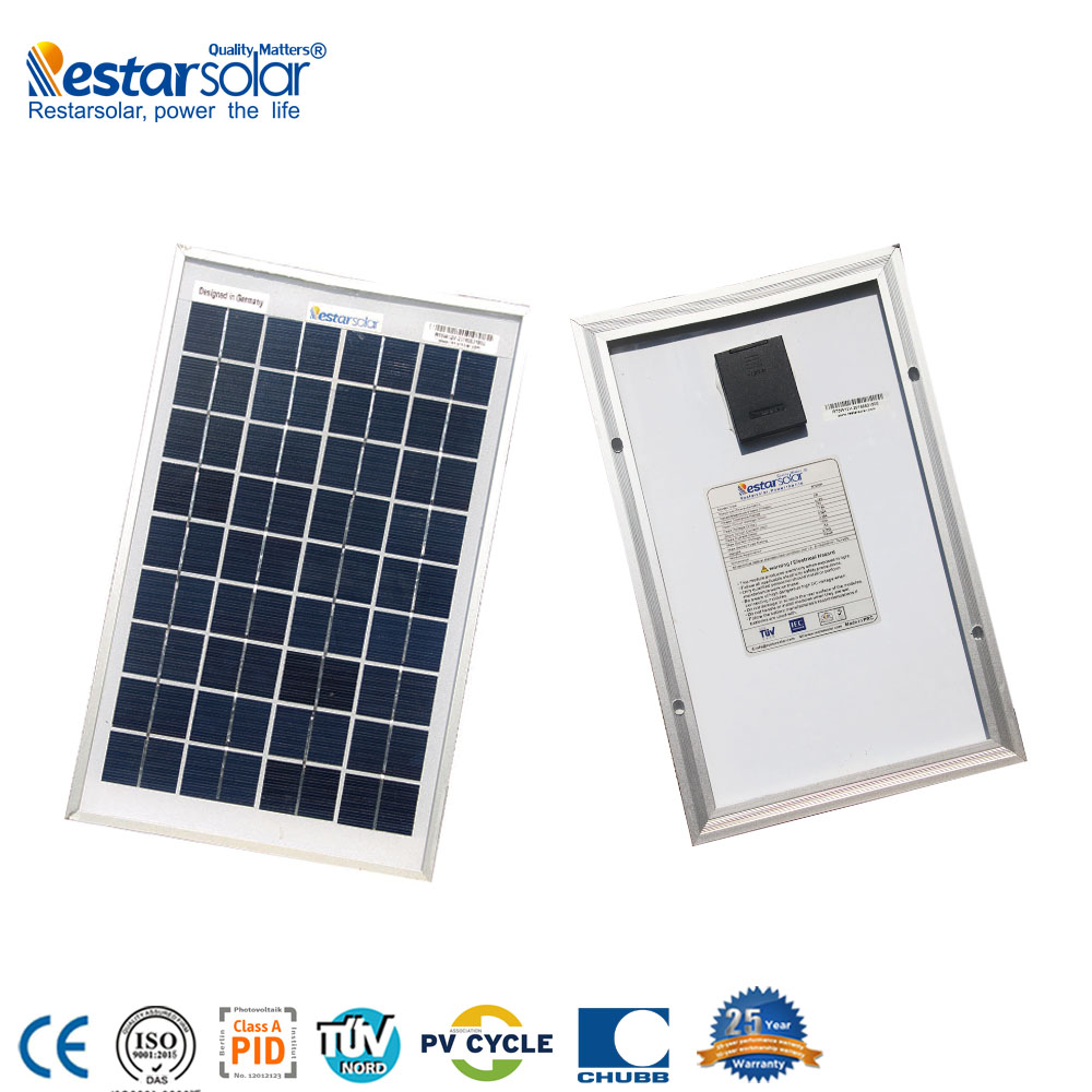 Restar high quality <strong>poly</strong> 12v 5w small solar panel --factory directly sales