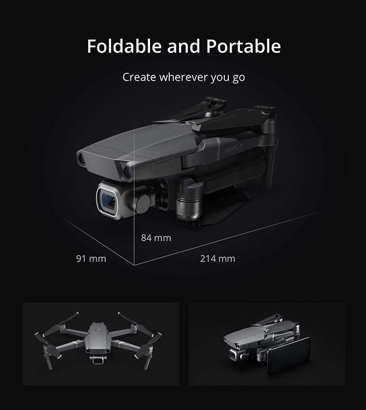 DJI Mavic 2 Enterprise ZOOM Helicopter 4k drone with a high-performance zoom lens mini camera drone