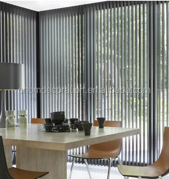 Transparent Vertical Blind Curtains Curtain Designs Smart Blinds