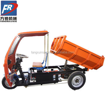 widely usage electro-tricycle/tip lorry for export