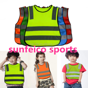 iRun 2019 Hot SaleHot Sale Child Size Safety Vest Jacket~Kids Reflective Flashing Vest~Running Cycling Safety Vest