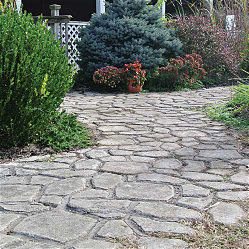 calzada pavimento de ladrillo patio losas de concreto camino pathmate jardn molde
