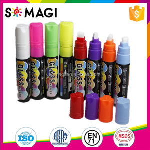 8 Pack Dual Tip liquid chalk marker /2016 Top Seller/Fluorescent 8 colors/Worldwide used