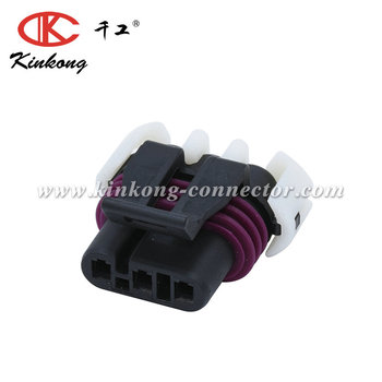 kinkong 3 Pin Female Delphi Sealed Auto Connector 12059595
