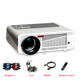 5500 lumens smart Android 4.4 lcd tv led projector support full hd 1080P 3d home theater digital video proyector beamer