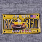 Custom fridge magnet holders NEW YORK city epoxy fridge magnet supplier
