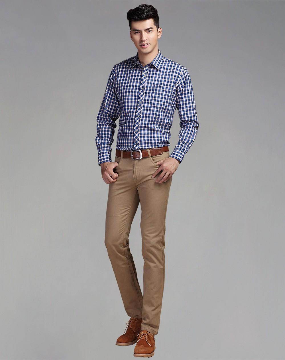 mantas mayor los camisa franela casual hombres diseño al hombres para camisa por 2015 moda de Rqg14