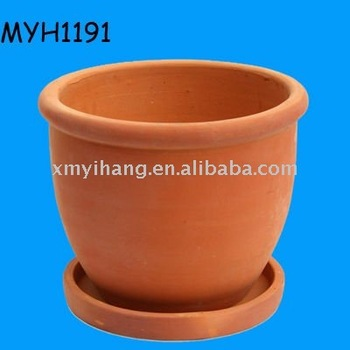 Terracotta Planter With Tray