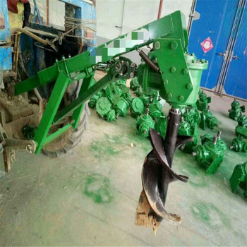 Hydraulic Earth Auger Drill For tractor
