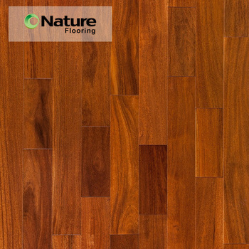 18mm Brown Brazilian Teak Smooth Solid Wood Flooring Cost For