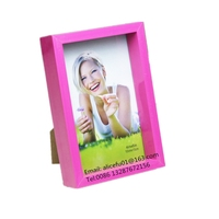 20x15 cm New design standing plastic photo frame/ sexy gril photo frame/ Deep 3D Plastic shadow box photo frame