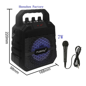 Portable Case Model Box 10 Inch Electrostatic Big Bluetooth Terbaik Line Array Karaoke Speaker