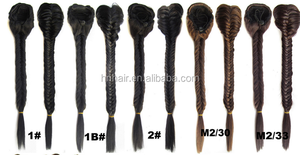 Hot selling easy wear synthetic hair braids high quality put on hair braids fishtail