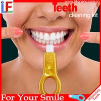 Smile Teeth Polish Whitening System Tooth Whitener Kit Whitener Dental Care Brightening Tooth Easy to Remove Stains