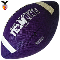 Size 6 Custom Rubber Rugby ball/American Football for Gift