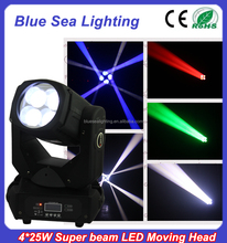 4x25 watt super beam led stairville mh 575 <span class=keywords><strong>s</strong></span> moving head licht