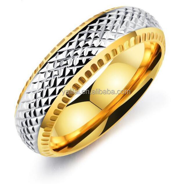 e0c70a2c6eff Tendencia de la moda anillo de Europa y los Estados Unidos anillo de acero  inoxidable