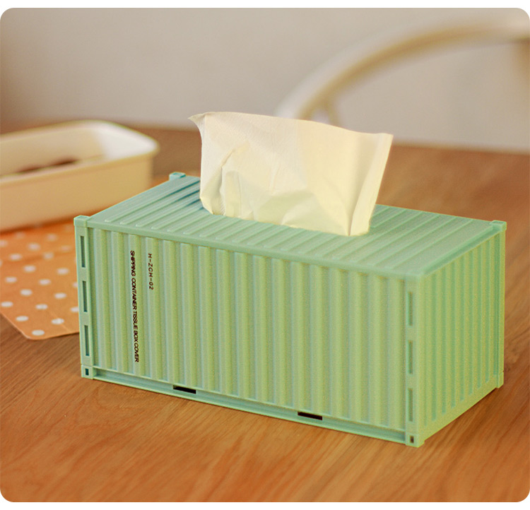 Hotel Facial Paper Holder Plastic Container Tissue Box