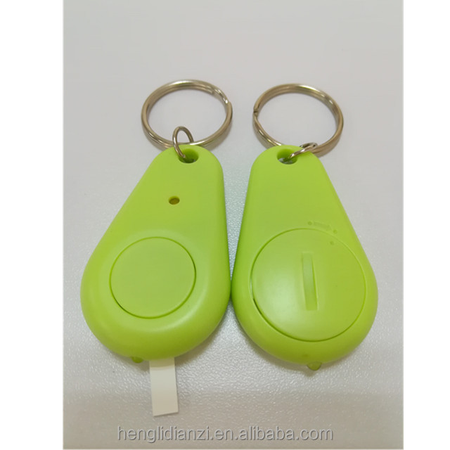 Promotional Gift Custom Keychain Sound Control Car Key Finder Locator Find Lost Keychain LED Whistle Key Finder