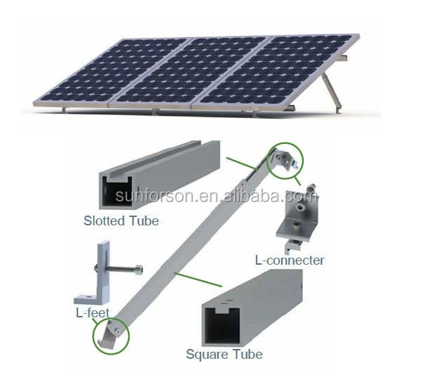 Solar Panel Angle: Flat Roof Adjustable Solar Panel Tilt Angle Pv Mounting