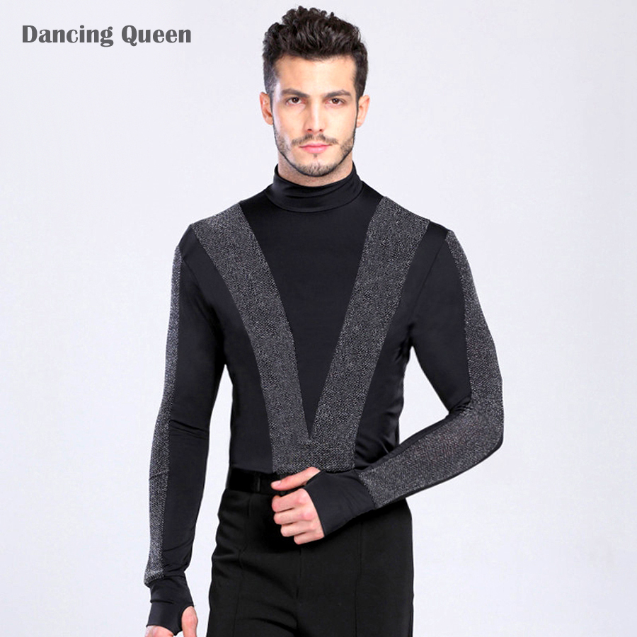 Mens Latin Dance Shirt 45