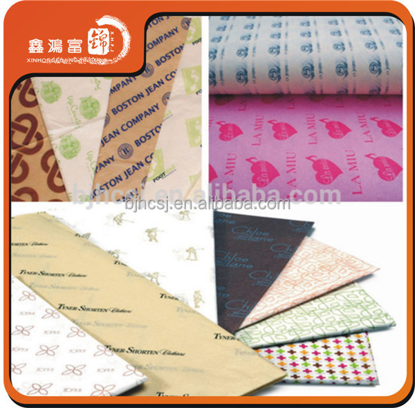 wholesale wrapping tissue paper with custom printed