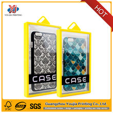 plastic packaging box for cell phone case, new mobile phone accessories plastic box