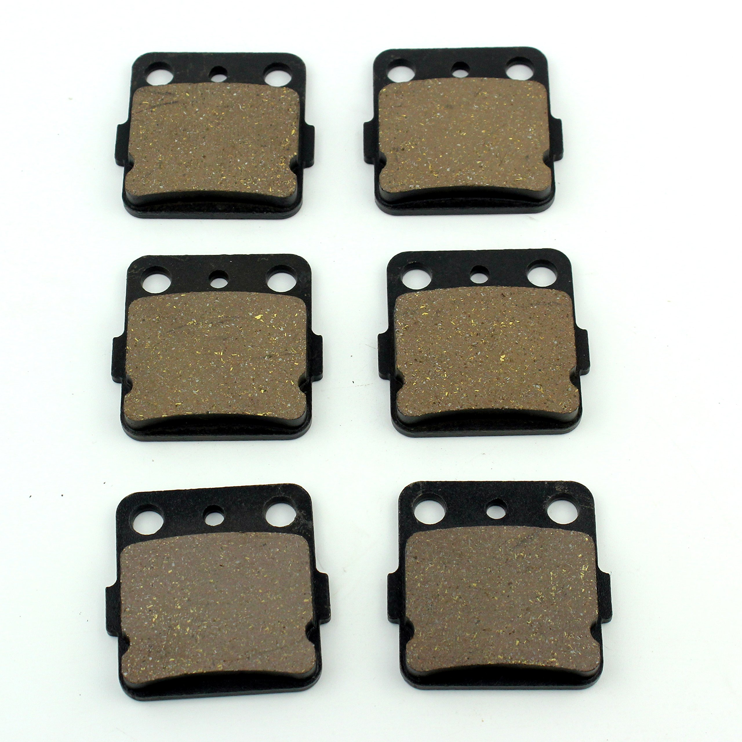 Brake Pads Kit Front And Rear Yamaha YFM 350 Raptor 2004-2013 YFM 660 R Raptor 2001-2005 New