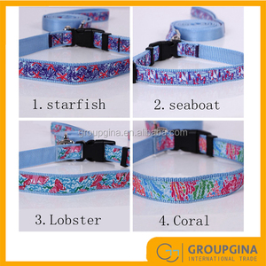 Personalized Lilly Pet Collar with Leashes
