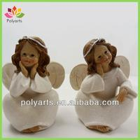 Christmas angel polyresin craft