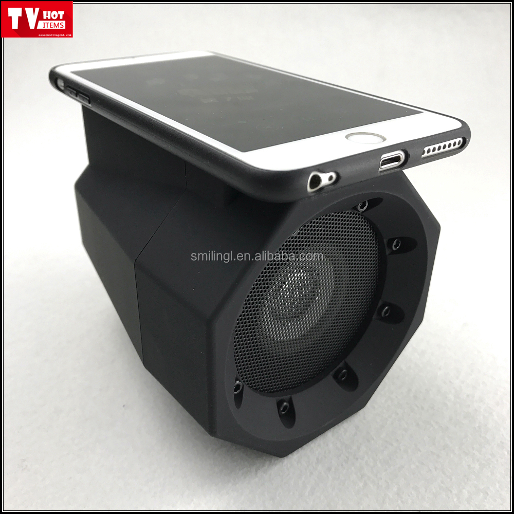 Touch sensor speaker boombox, Just touch for instant amplification