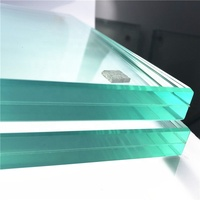 16mm 13.52mm 12mm thick 838mm tempered laminated glass price