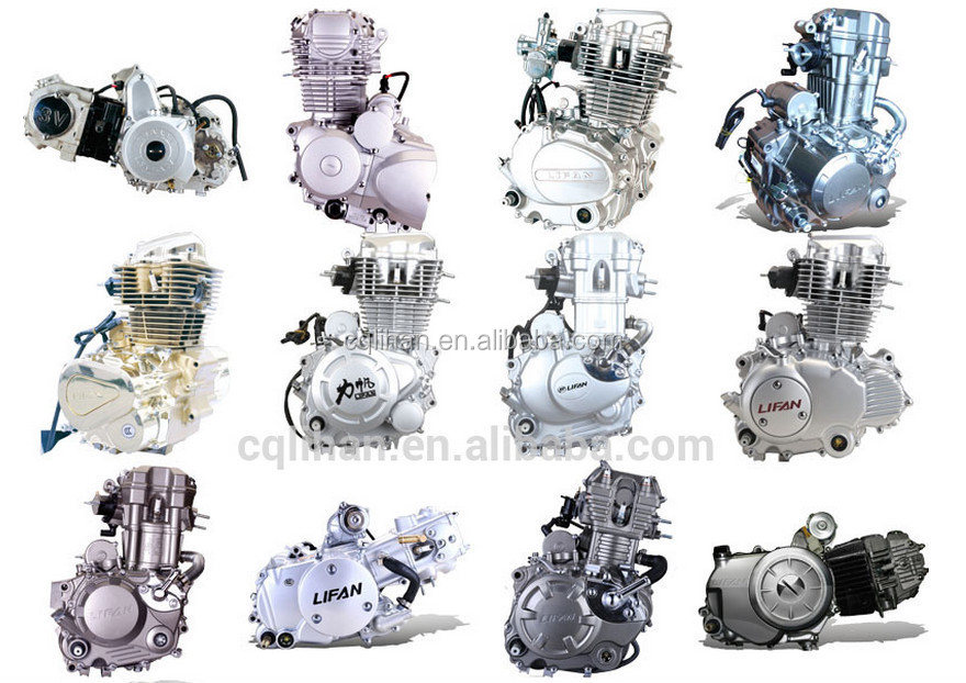 Lifan 250cc 4-stroke Electric Start Air-cooled 2 Cylinder ...
