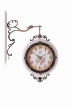 Wall Clock, Antique wooden Wall Clock,double side wall clock