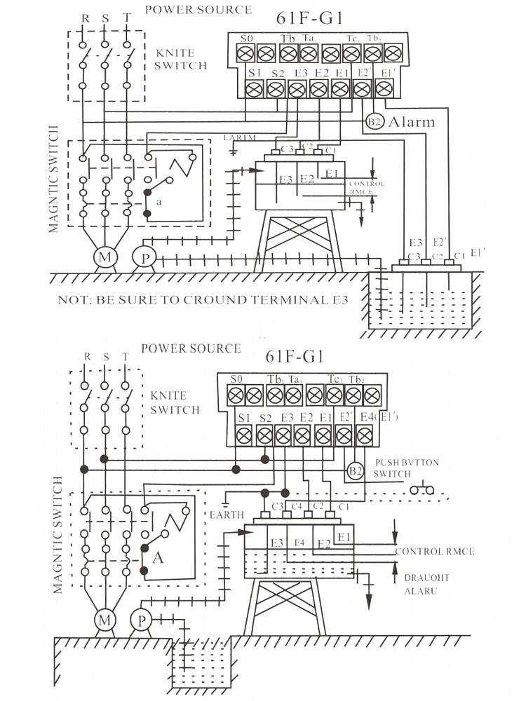 Alion 61f G1 Two Led Action Mini Liquid Level Switch Drainage Float