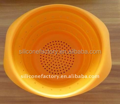 Kitchen tools - Large silicone collapsible colander