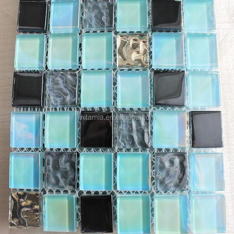 mosa que de verre mixte de toilette salle de bains design carrelage mosa que id de produit. Black Bedroom Furniture Sets. Home Design Ideas